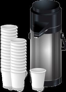 Industrie Kaffeemaschine pumpkanne thermoskanne